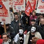 Marche sur la Bastille, 18 mars 2012 (Crédit: Michel Soudais)